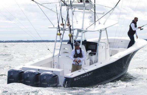 Southport 33 ST fishing