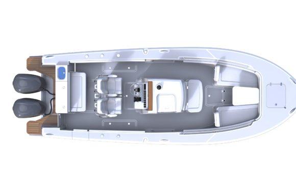 Southport 27 FE Deck Plan